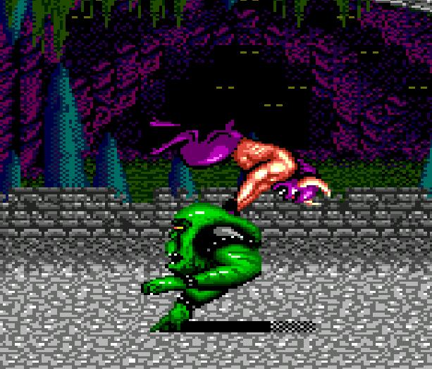 Tongue of the Fatman - Fatman - Mondu's Fight Palace - Slaughter Sport - IBM PC Commodore 64 Genesis 1989 Xtreme Retro 2 Basurero