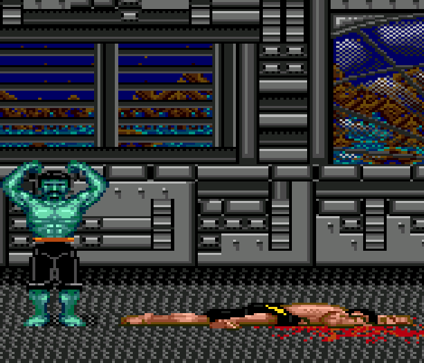 Tongue of the Fatman - Fatman - Mondu's Fight Palace - Slaughter Sport - IBM PC Commodore 64 Genesis 1989 Xtreme Retro 3 Basurero