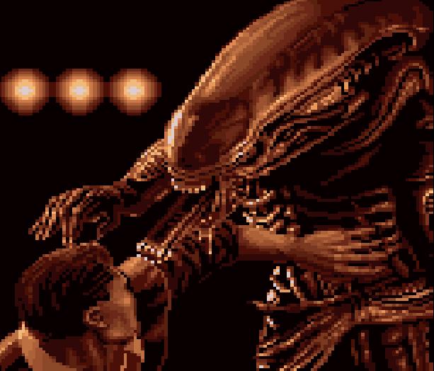 Alien VS Predator Rebellion Atari Jaguar Pixel Art Xtreme Retro