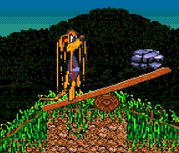 Awesome Possum Sega Genesis Mega Drive Sonic Clon Xtreme Retro 2