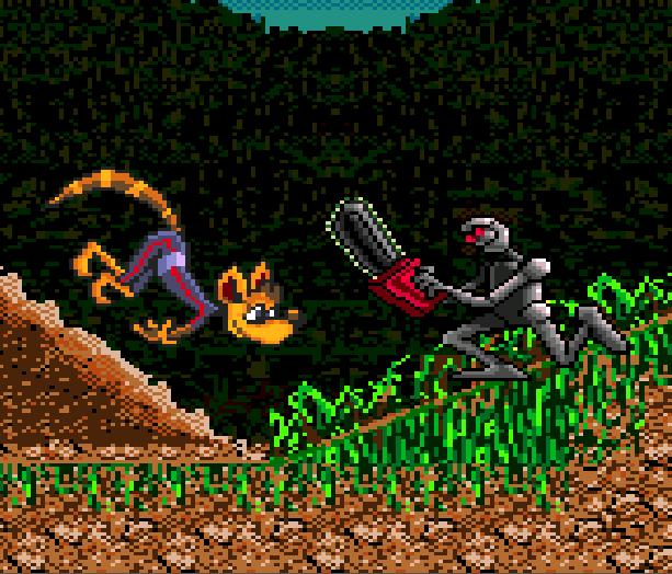 Awesome Possum Sega Genesis Mega Drive Sonic Clon Xtreme Retro 6