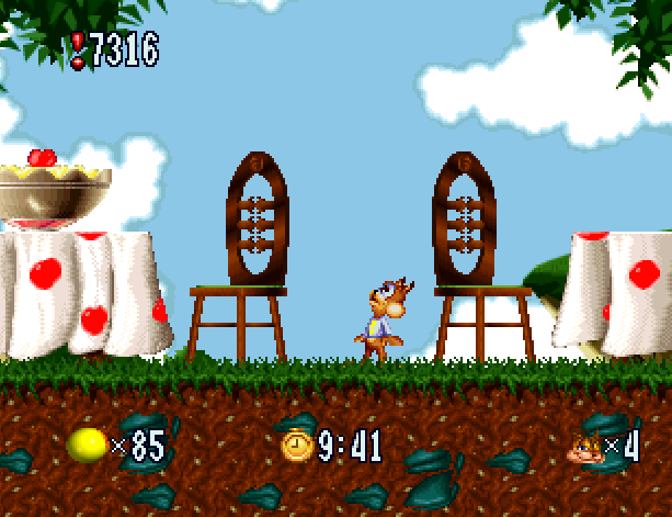 Bubsy in Fractured Furry Tales Atari Jaguar Accolade Xtreme Retro 7