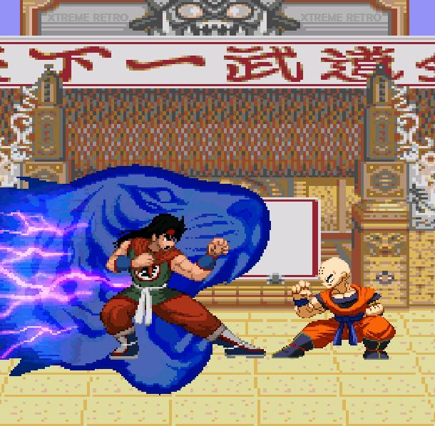 DBZ Buyu Retsuden Sega Genesis Mega Drive Pixel Art Xtreme Retro 3