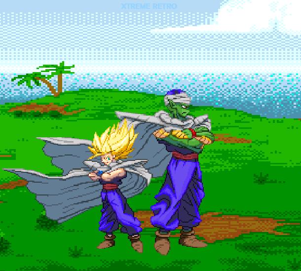 DBZ Buyu Retsuden Sega Genesis Mega Drive Pixel Art Xtreme Retro 5