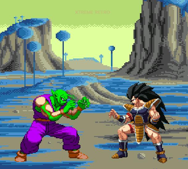 DBZ Buyu Retsuden Sega Genesis Mega Drive Pixel Art Xtreme Retro 8