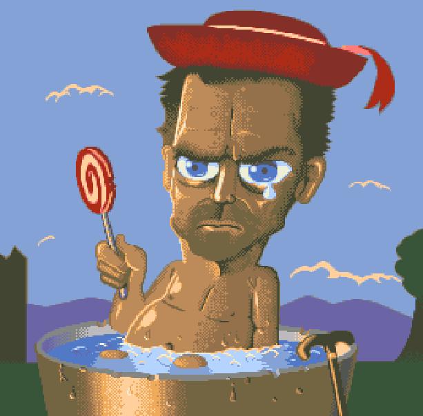 Daddy Papi Pixel Art Xtreme Retro