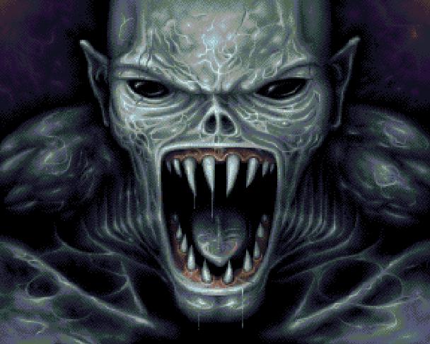 Doom La Puerta del Infierno Película Pixel Art Xtreme Retro