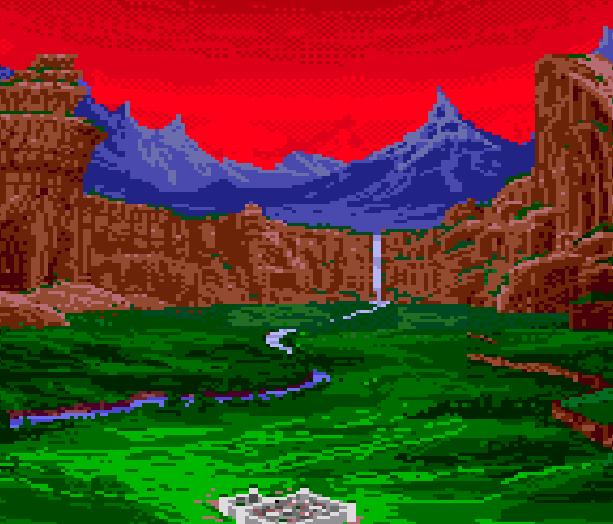 Dungeons & Dragons Warriors of the Eternal Sun Sega Genesis Mega Drive Xtreme Retro 2