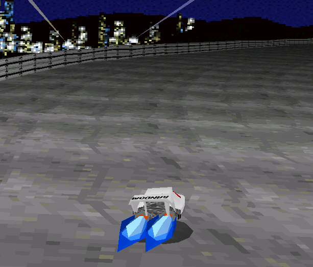 Hoverr Racing Net Yaroze Sony PlayStation PSX PSOne Xtreme Retro 2