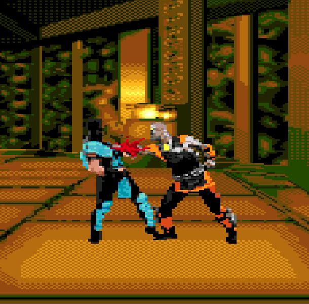 MK5 Mortal Combat Sub Zero Sega Genesis Mega Drive Pirate Game Xtreme Retro 1