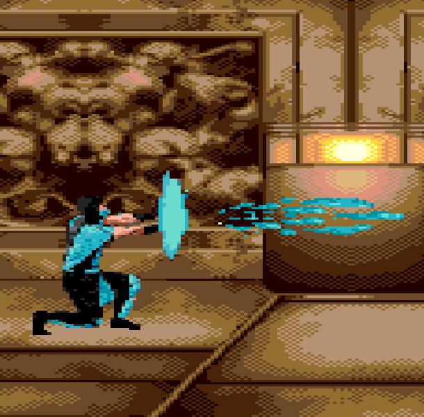 MK5 Mortal Combat Sub Zero Sega Genesis Mega Drive Pirate Game Xtreme Retro 2