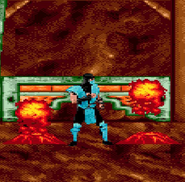 MK5 Mortal Combat Sub Zero Sega Genesis Mega Drive Pirate Game Xtreme Retro 3