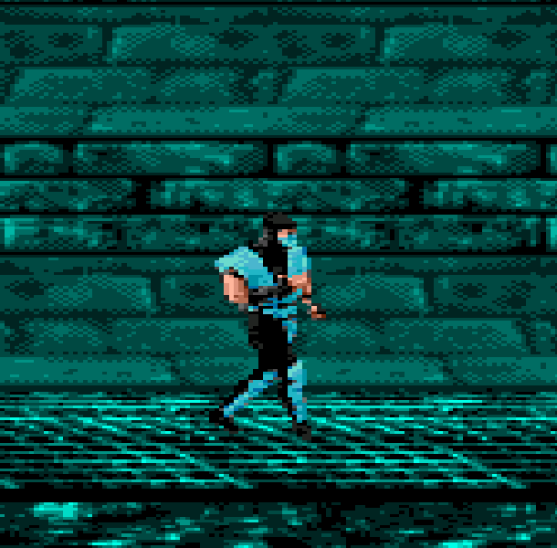MK5 Mortal Combat Sub Zero Sega Genesis Mega Drive Pirate Game Xtreme Retro 4