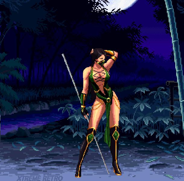 Mortal Kombat Deadlly Alliance Midway Game Boy Advance GBA PlayStation 2 PS2 GameCube GC XBOX Pixel Art Xtreme Retro