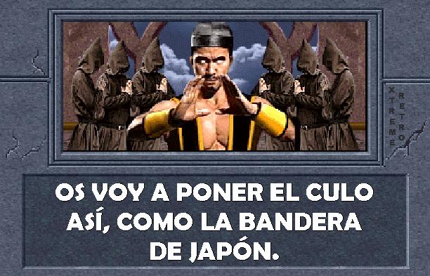 Mortal Kombat Midway Arcade Shang Tsung Pixel Art Xtreme Retro
