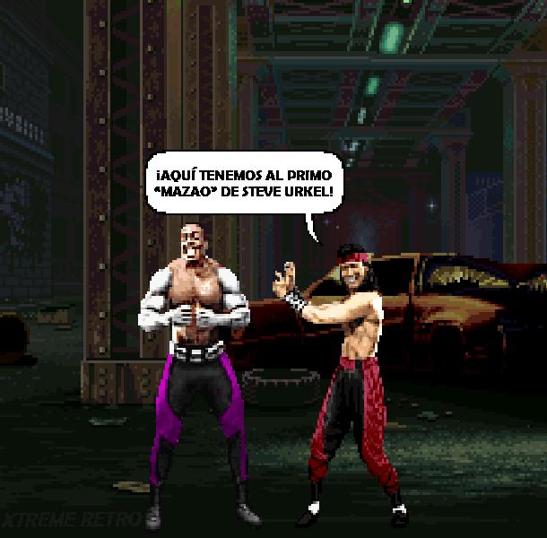 Mortal Kombat Special Forces Midway Pixel Art PlayStation PSX PSOne Pixel Art Xtreme Retro Beat em up 2