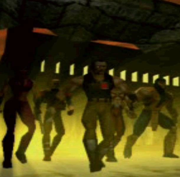 Mortal Kombat Special Forces Midway Pixel Art PlayStation PSX PSOne Xtreme Retro Beat em up 1