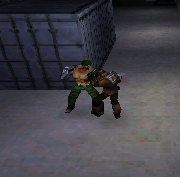 Mortal Kombat Special Forces Midway Pixel Art PlayStation PSX PSOne Xtreme Retro Beat em up 2