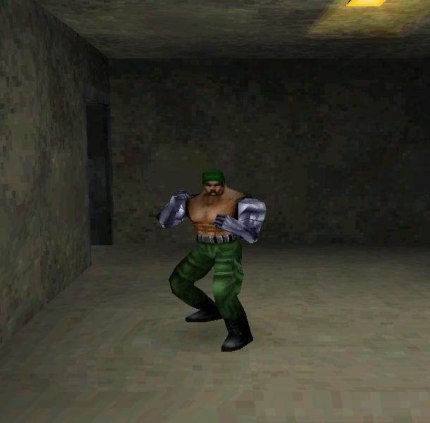 Mortal Kombat Special Forces Midway Pixel Art PlayStation PSX PSOne Xtreme Retro Beat em up 3