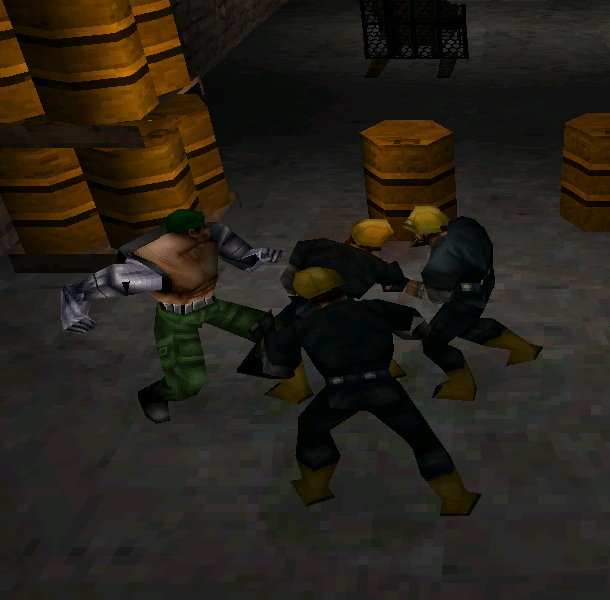 Mortal Kombat Special Forces Midway Pixel Art PlayStation PSX PSOne Xtreme Retro Beat em up 6