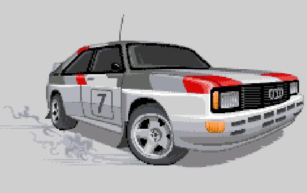 Sega GT 2002 Xbox Pixel Art Xtreme Retro