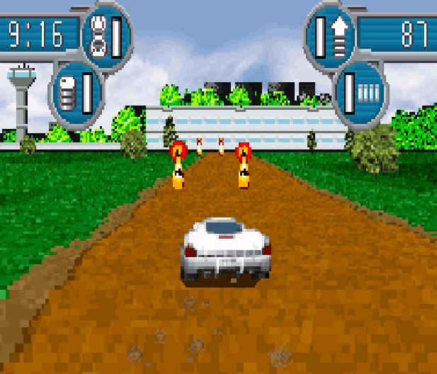 SpyHunter Arcade Midway Game Boy Advance GBA Xtreme Retro 2