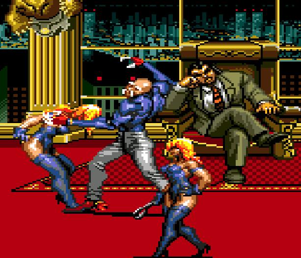 Streets of Rage Bare Knuckle 3 Sega Genesis Mega Drive Beat em up Xtreme Retro 19
