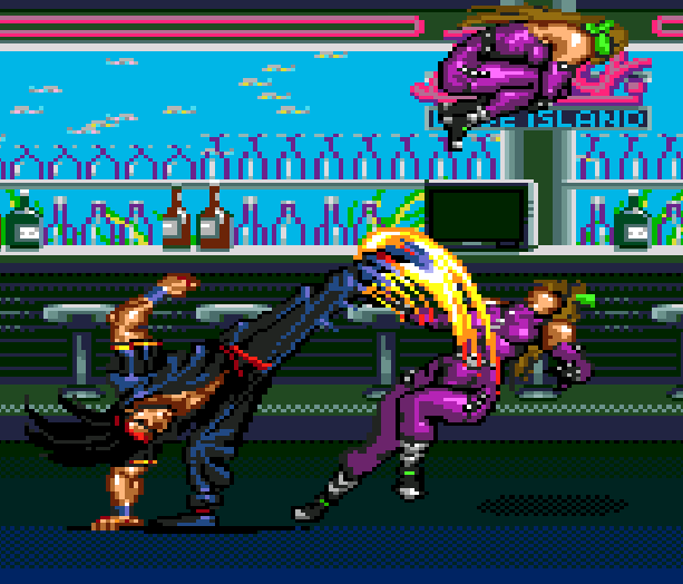 Streets of Rage Bare Knuckle 3 Sega Genesis Mega Drive Beat em up Xtreme Retro 37