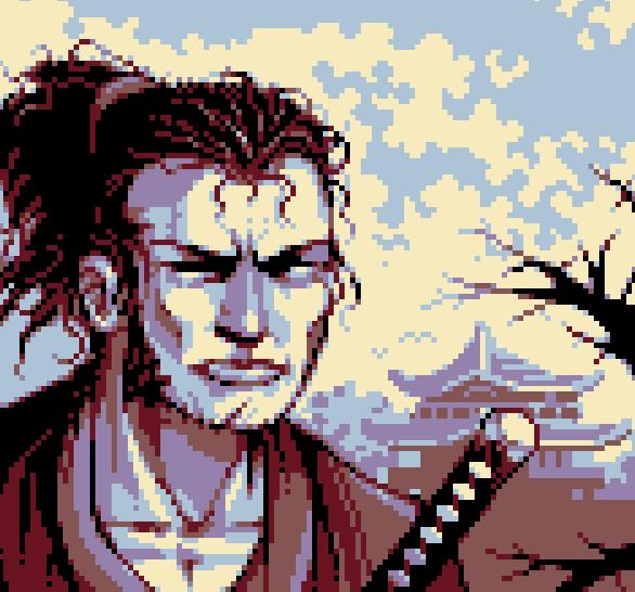 The Ninja Sega Master System Pixel Art Xtreme Retro