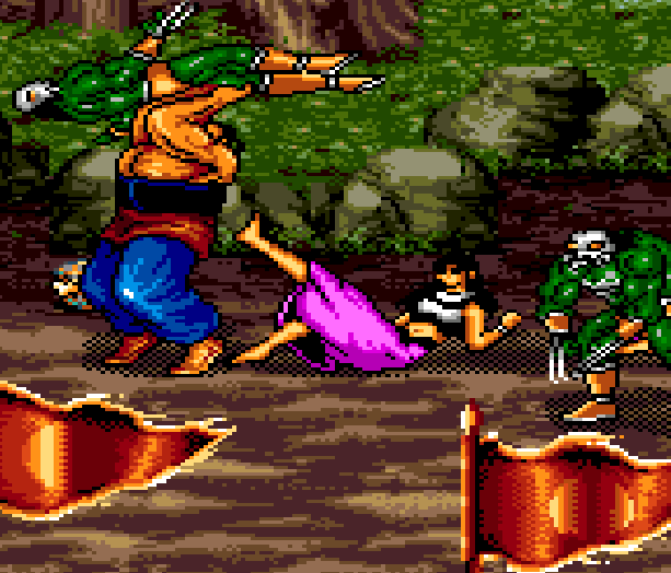 The Yang Warrior Family Sega Genesis Mega Drive Beat em up Chinese Pirate Game Xtreme  Retro 3
