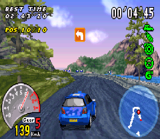 V-Rally 3 Game Boy Advance GBA Xtreme Retro 2