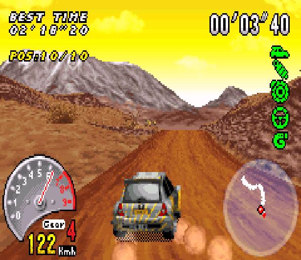 V-Rally 3 Game Boy Advance GBA Xtreme Retro 3