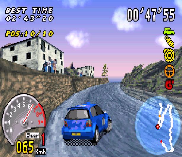 V-Rally 3 Game Boy Advance GBA Xtreme Retro 4