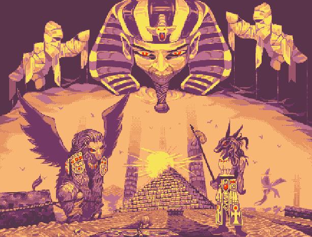 Big Karnak Gaelco Spanish Software Arcade Pixel Art Xtreme Retro