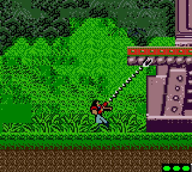 Bionic Commando Capcom Nintendo Game Boy Color Xtreme Retro 2