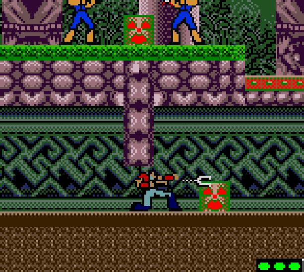 Bionic Commando Capcom Nintendo Game Boy Color Xtreme Retro 3
