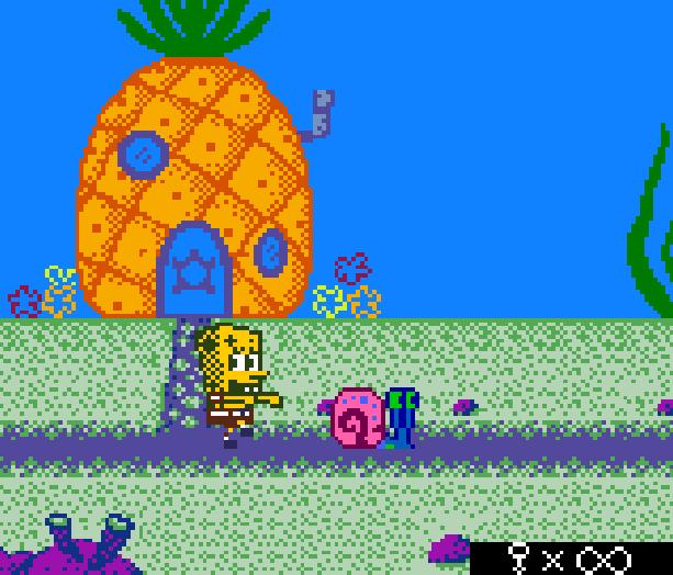 Bob Esponja Game Boy Color Xtreme Retro 1