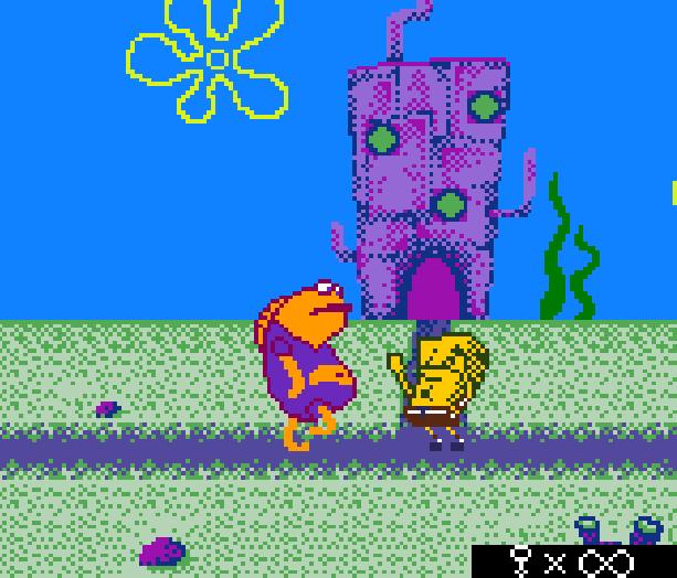 Bob Esponja Game Boy Color Xtreme Retro 2