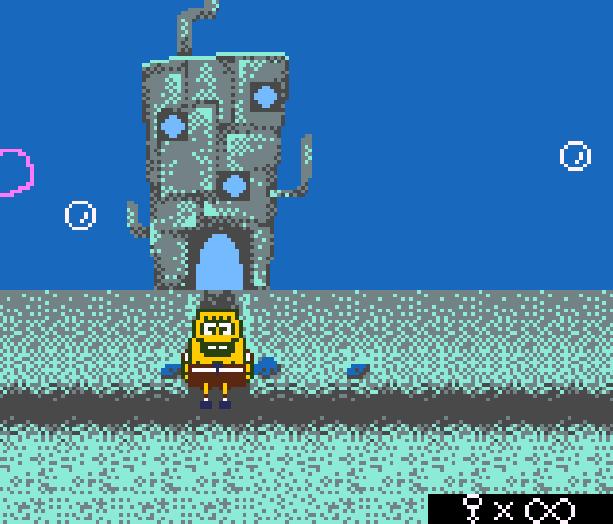 Bob Esponja Game Boy Color Xtreme Retro 3