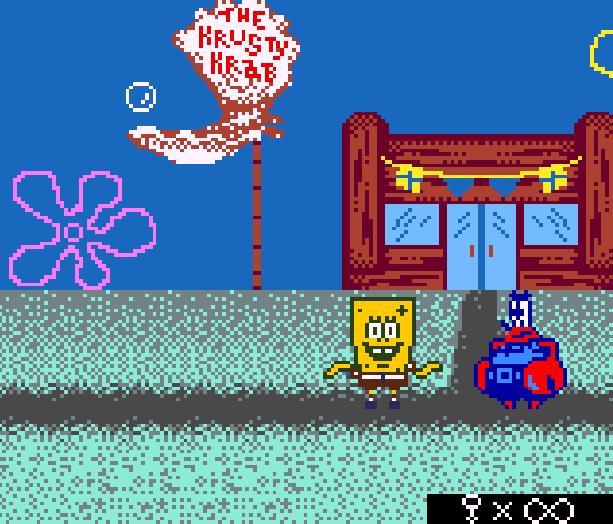 Bob Esponja Game Boy Color Xtreme Retro 5