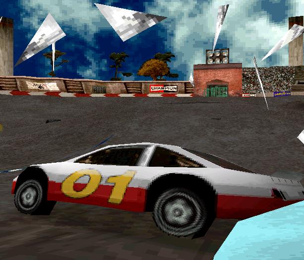 Destruction Derby 2 Psygnosis PlayStation PSOne PSX Xtreme Retro 1