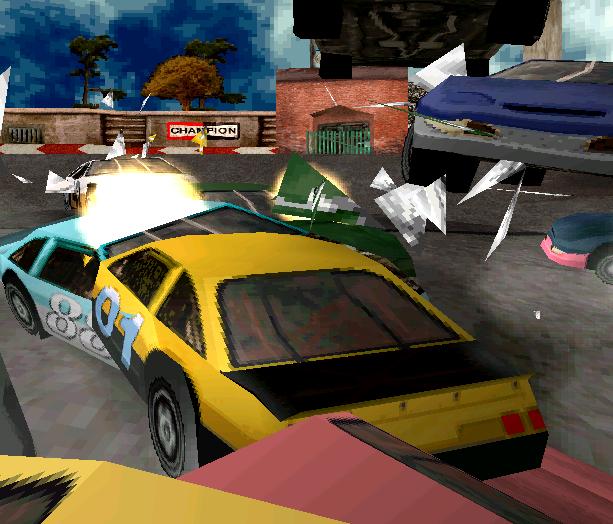 Destruction Derby 2 Psygnosis PlayStation PSOne PSX Xtreme Retro 4