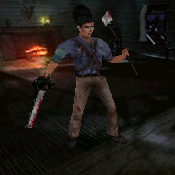 Evil Dead Hail to the King PlayStation PSX PSOne Dreamcast DC PC THQ Xtreme Retro 2