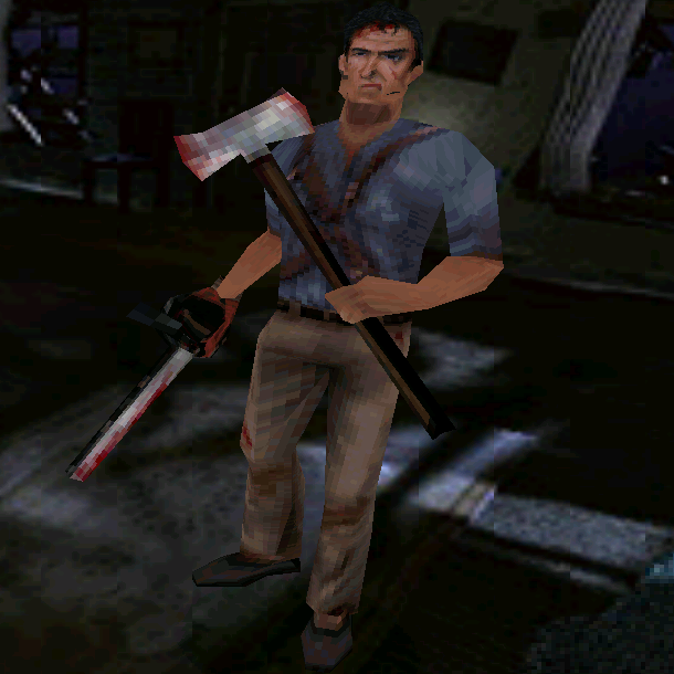 Evil Dead Hail to the King PlayStation PSX PSOne Dreamcast DC PC THQ Xtreme Retro 3