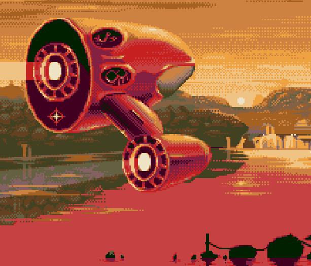 Iridion 3D Shump GBA Pixel Art Xtreme Retro