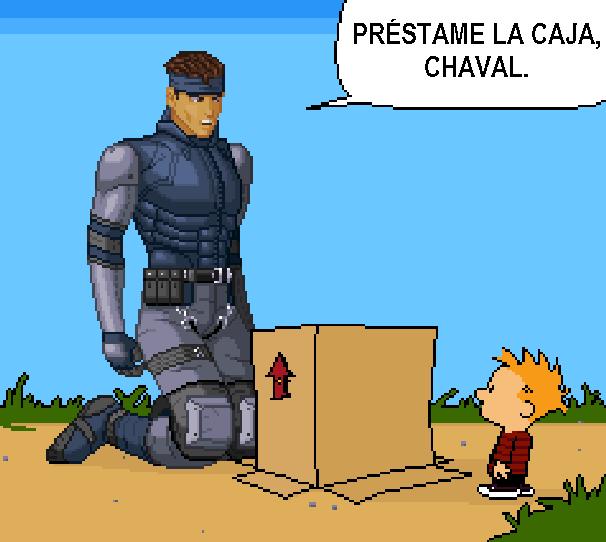 Metal Gear Solid MGS Konami PlayStation PSOne PSX Funny Pixel Art Xtreme Retro
