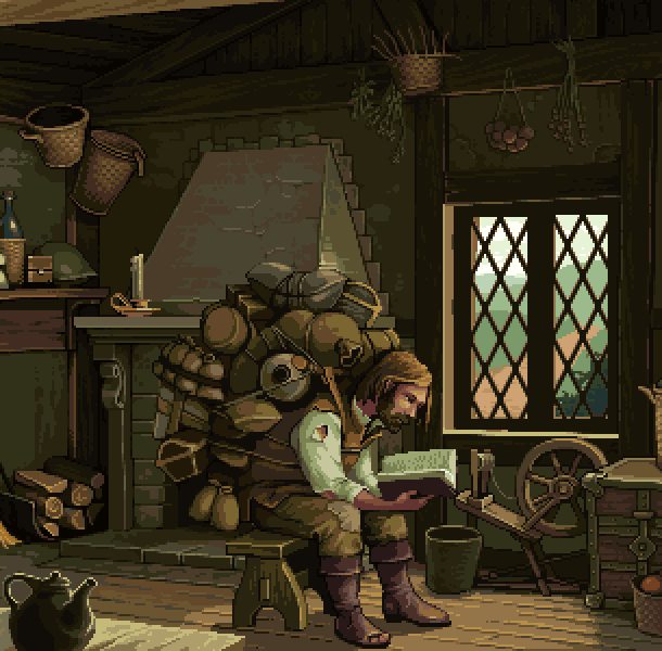 Reading Pixel Art Xtreme Retro