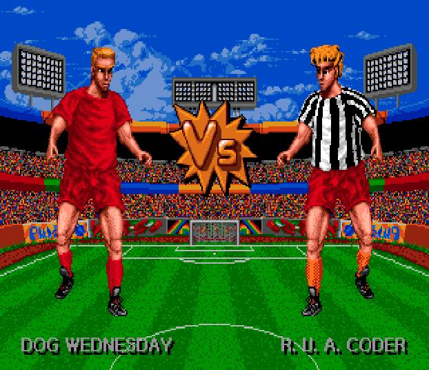 Sensible Soccer Sega Genesis Mega Drive Xtreme Retro 1