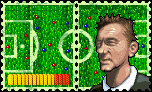 Sensible Soccer Sega Genesis Mega Drive Xtreme Retro Pixel Art