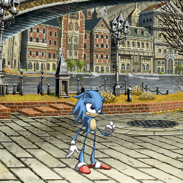 Sonic the Hedgehog 2006 Xtreme Retro PS3 PlayStation 3 Xbox 360 Sonic Team Soleanna Pixel Art Xtreme Retro